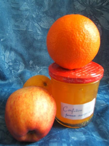 Confiture oranges-pommes-citrons