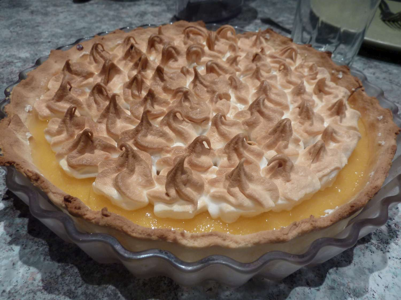 Recette tarte au citron meringu e la cuisine de martine - Tarte au citron meringuee herve cuisine ...