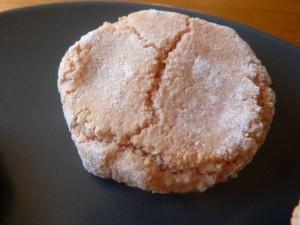 Amaretti aux biscuits roses de Reims