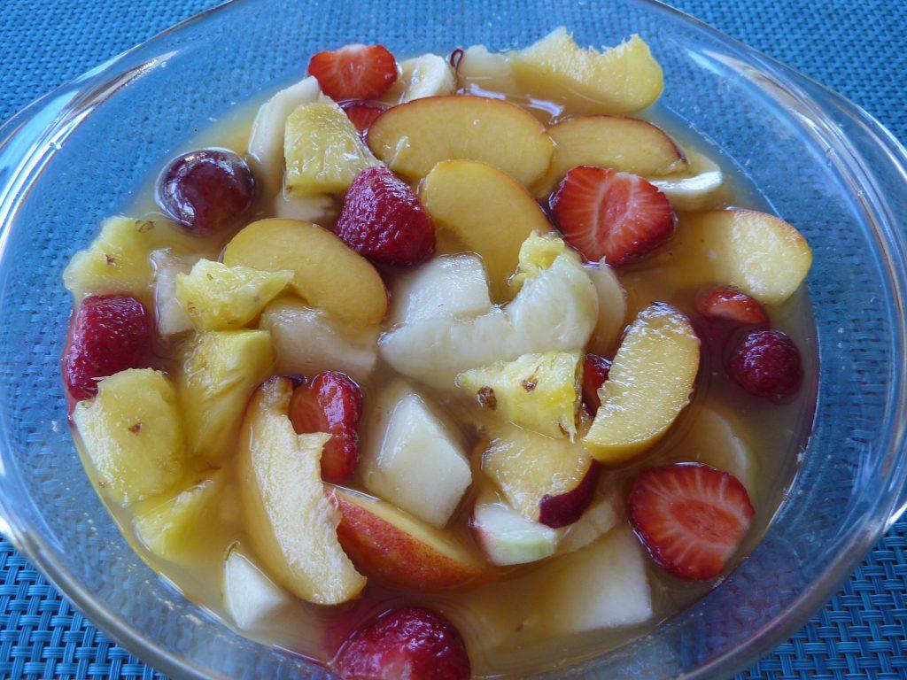 recette salade de fruits frais la cuisine de martine